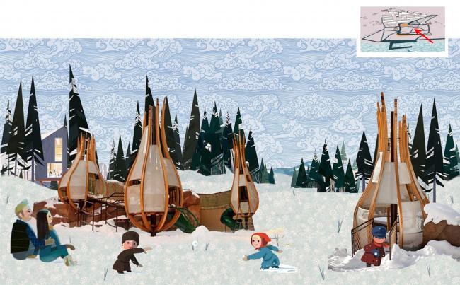 Игарка. Детская площадка © Master's Plan
