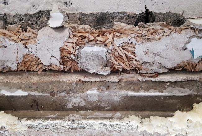 Утеплитель из камышита. Предоставлено Гинзбург Архитектс