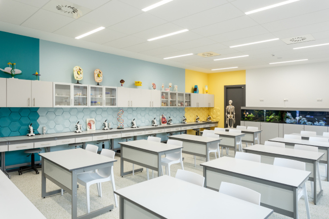 Гимназия А+, реализация © Архиматика. Фотография © Александр Ангеловский