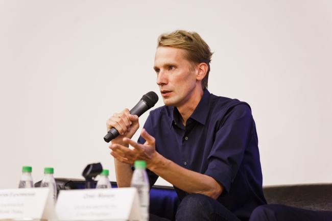 Антон Барклянский, архитектор, руководитель бюро Synchrotecture, Москва, Пермь. Фотография предоставлена «Открытым городом»