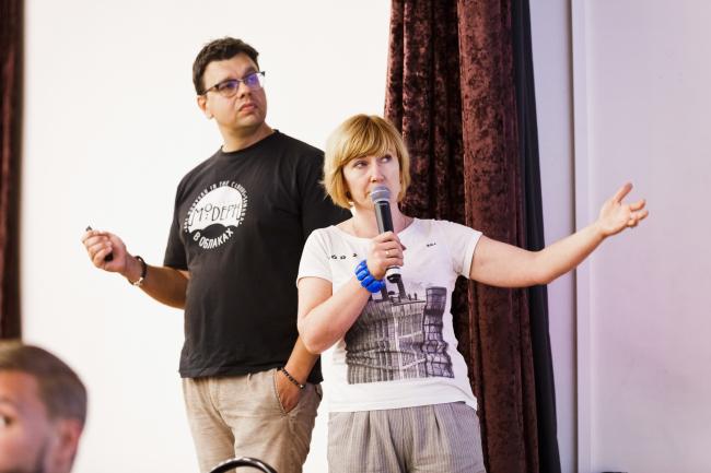 Дмитрий и Мария  Храмовы, архитекторы, руководители бюро «АРТПОЛИС», Самара. Фотография предоставлена «Открытым городом»