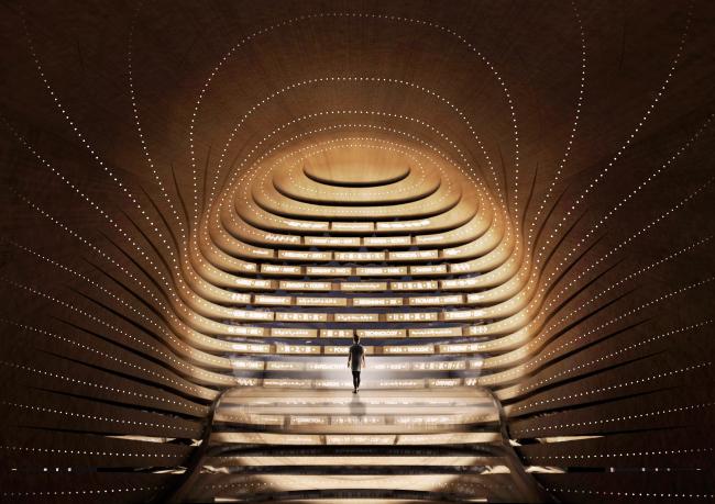 «Поэтический павильон» (Британский национальный павильон на Экспо-2020) © Es Devlin