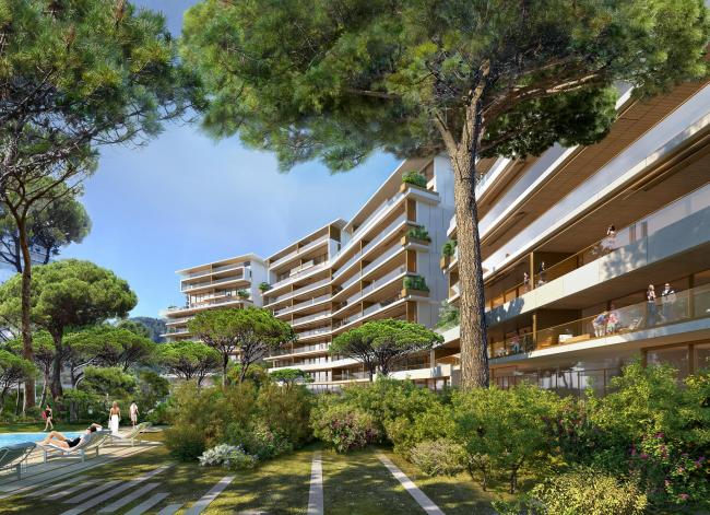 Монако – расширение береговой линии © Valode & Pistre