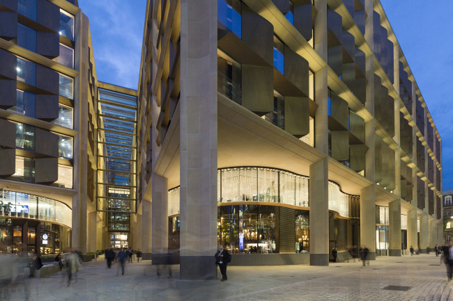 Европейская штаб-квартира компании Bloomberg в Лондоне © Aaron Hargreaves
