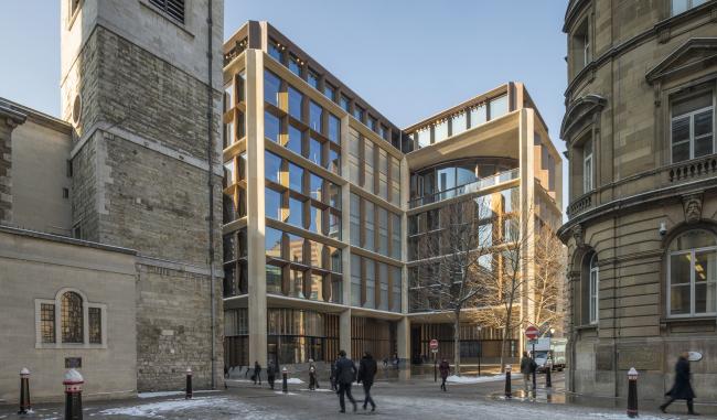 Европейская штаб-квартира компании Bloomberg в Лондоне © Nigel Young / Foster + Partners