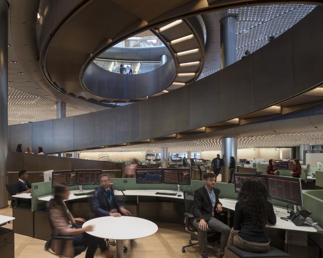 Европейская штаб-квартира компании Bloomberg в Лондоне © James Newton