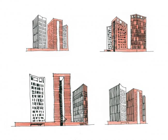 """Nikolaevsky"" residential complex © OSA Group"