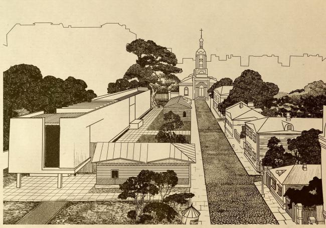 Проект создания музейного заповедника, 1971 год. Фонды ГЦМСИР. Предоставлено ГЦМСИР