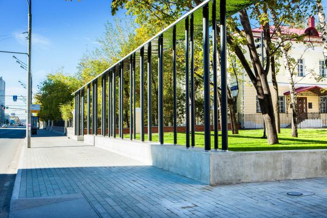 Новый вход в парк Горького со стороны Ленинского проспекта. Фотография: Олег Леонидов