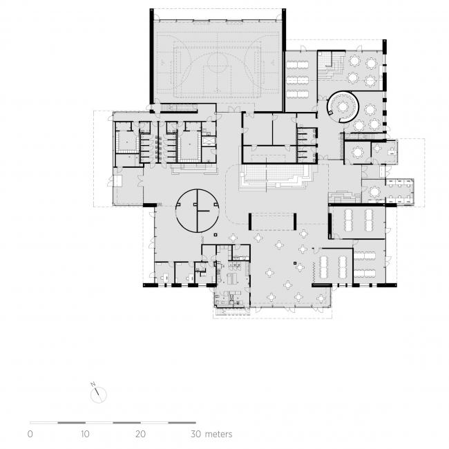 Общественный и образовательный центр Hjertet © C.F. Møller Architects