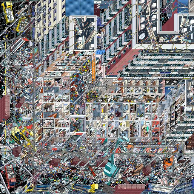 Сансара дома № 42 на Грязной улице (The Samsara of Building No.42 on Dirty Street). Автор: Ли Хань (Li Han), Drawing Architecture Studio, Китай