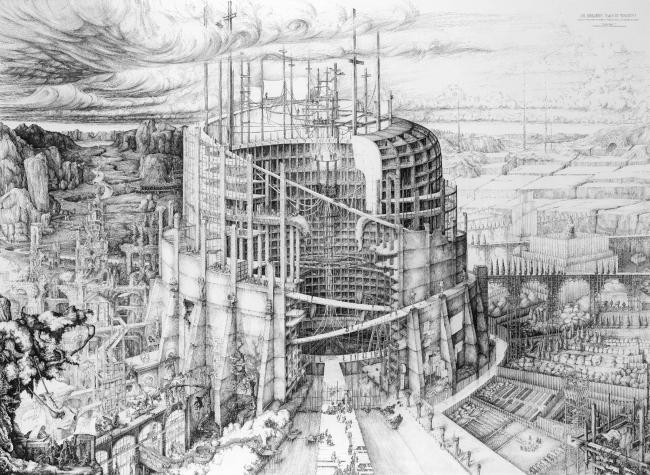 Вавилонская башня современности (The Babylonian Tower of Modernity). Автор: Карлин Кингма (Carlijn Kingma), Делфтский технический университет, Нидерланды