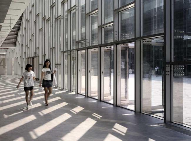 Женский университет Ихва © Dominique Perrault Architecture