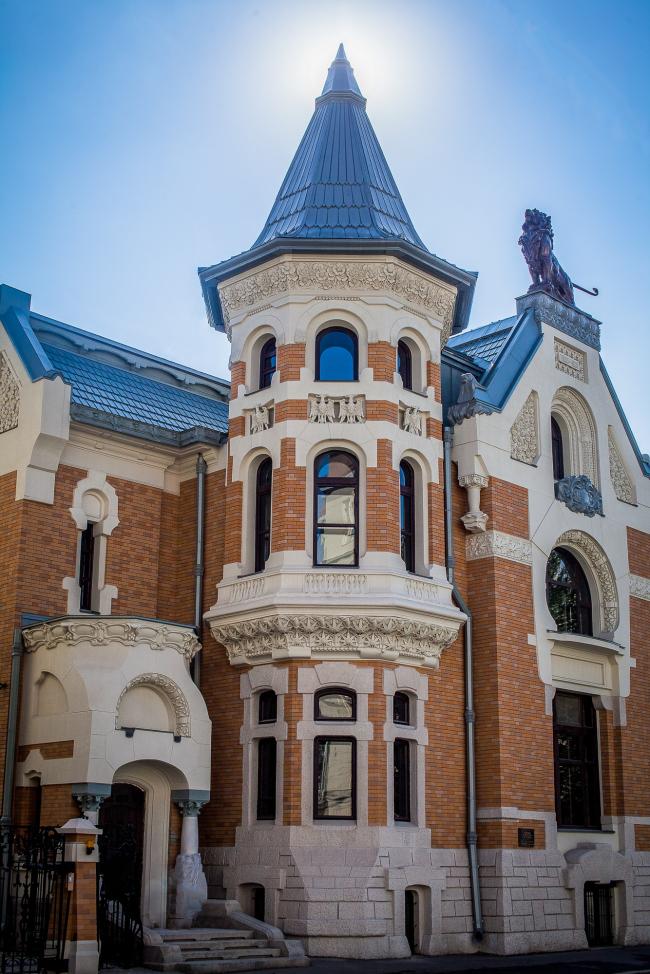 Особняк Анны Кекушевой на Остоженке. Архитектор Лев Кекушев. 1900–1903. Фото © RHEINZINK