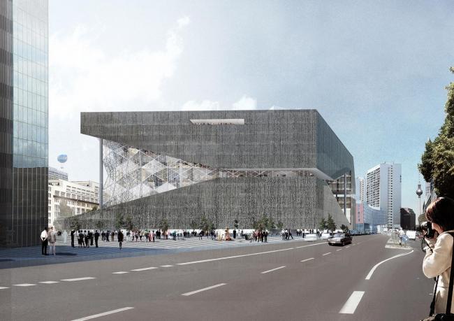 Новое здание издательского дома Axel Springer. 2016 © ОМА