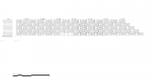 Многоквартирный дом на улице Дортеавей © BIG