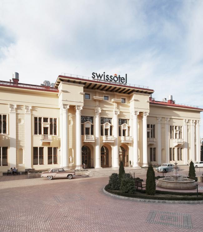 Отель «Камелия» в Сочи © Гинзбург Архитектс