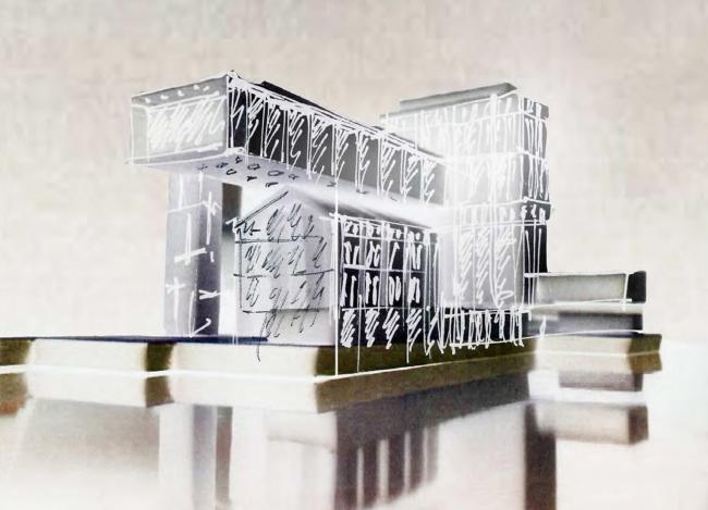 Многофункциональный комплекс «Технопарк «Холодильник». Эскизы