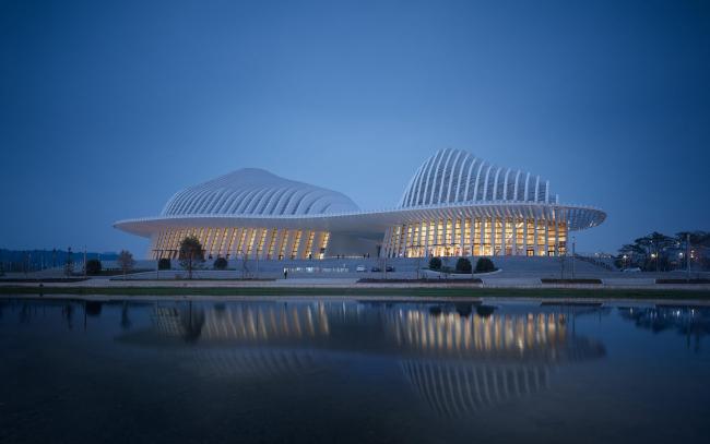 Центр культуры и искусства Гуанси © Christian Gahl