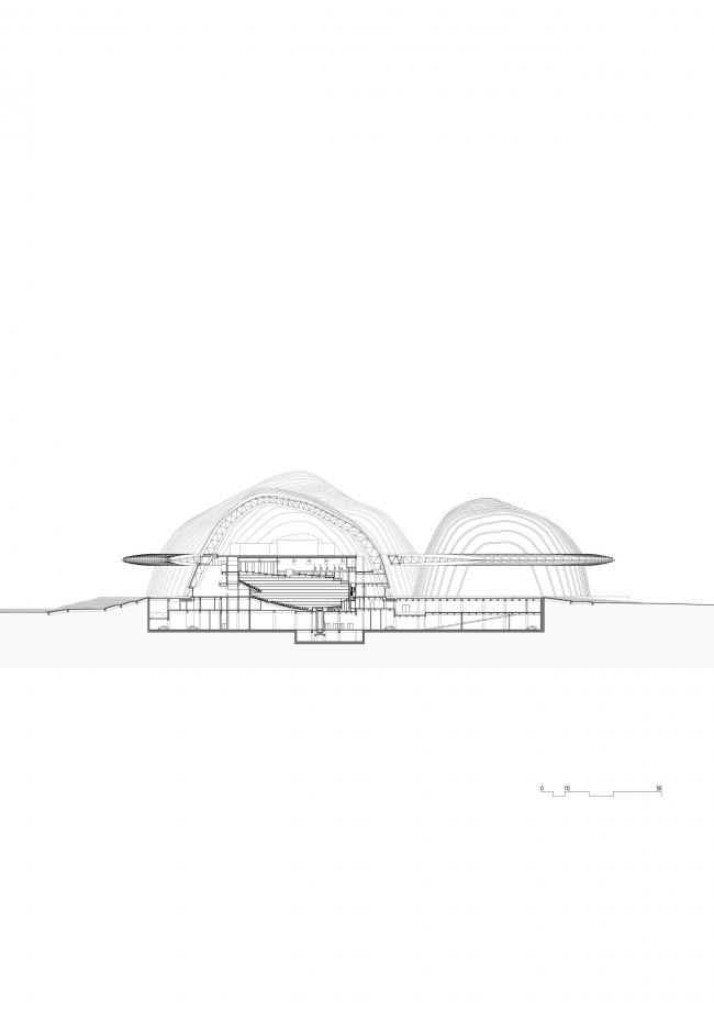 Центр культуры и искусства Гуанси © gmp