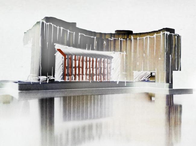 "Multifunctional complex ""Technology park ""Fridge"". Sketches © GRAN"