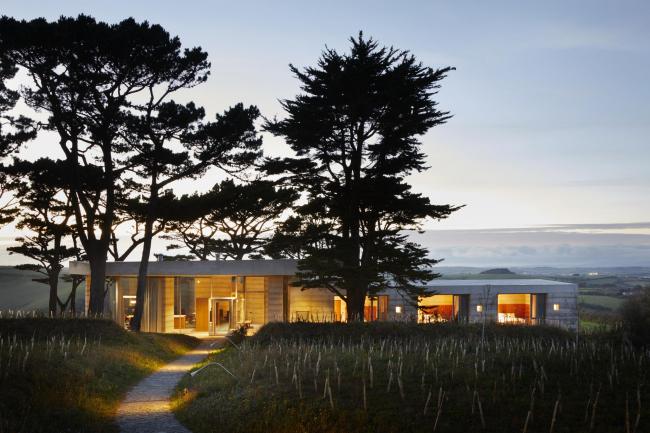 Вилла Secular Retreat © Jack Hobhouse/Living Architecture