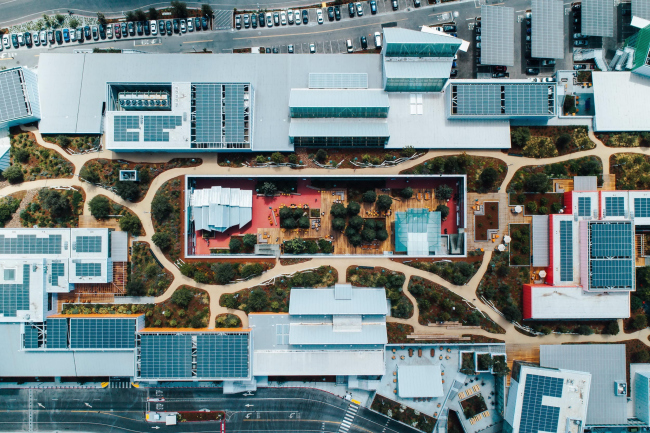 Корпус MPK 21 штаб-квартиры Facebook. Фото © Facebook