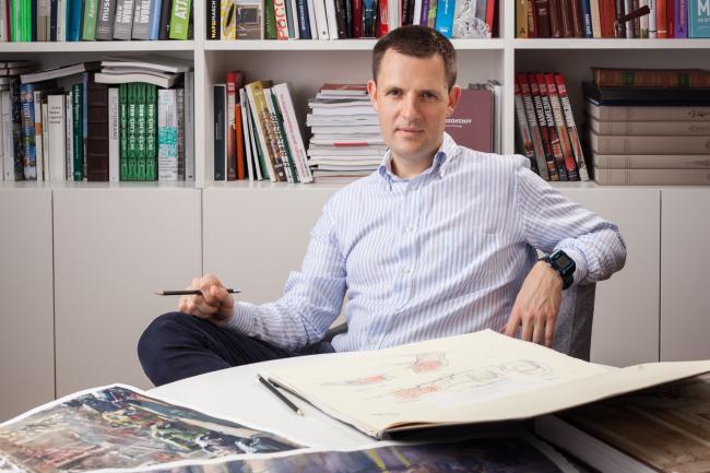 Сергей Кузнецов. Фотография предоставлена пресс-службой Москомархитектуры