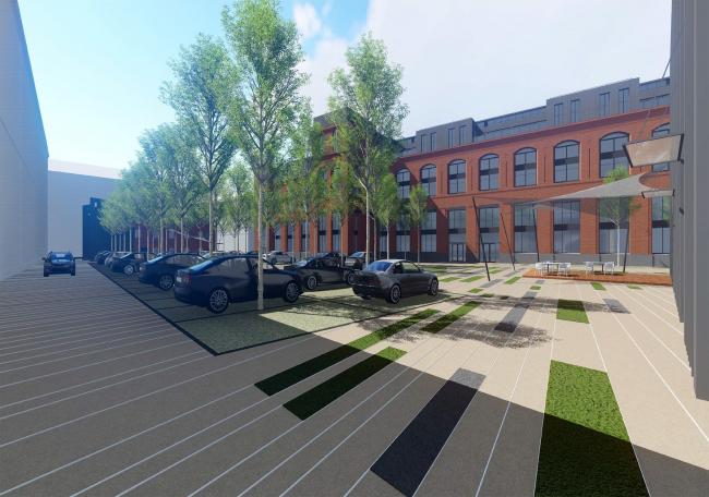 Реконструкция комплекса зданий завода «Мосавтостекло»