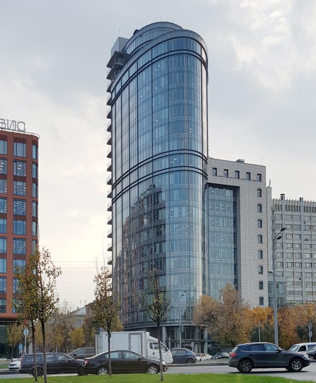 Административное здание на улице Коровий Вал. Постройка © мастерская Павла Андреева. Фотография: Архи.ру