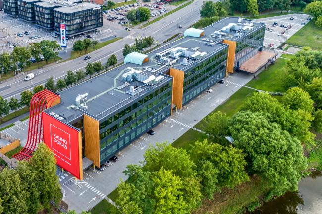 Kauno Dokas в Литве. Studia KANCO, архитектор G. Kančaitė © фотография Evaldas Lasys