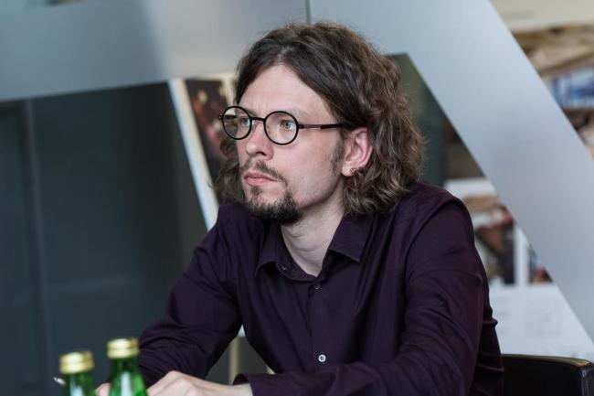 Владимир Фролов, главный редактор журнала «Проект Балтия», куратор вставочных проектов. Фотография предоставлена «Проект Балтия»