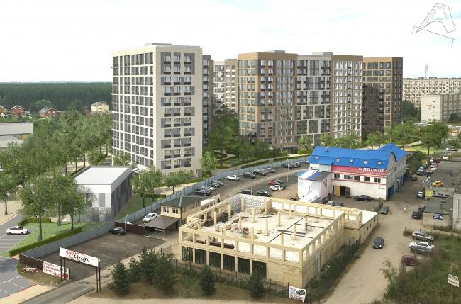 Жилой комплекс «Преображение» в деревне Мостец