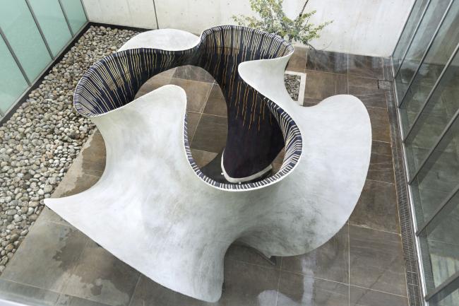 KnitCandela. Фотография предоставлена Zaha Hadid Architects