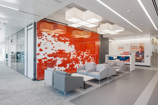 Офис компании GSK. Архитекторы: ABD architects. Изображение предоставлено пресс-службой премии MCFO Awards