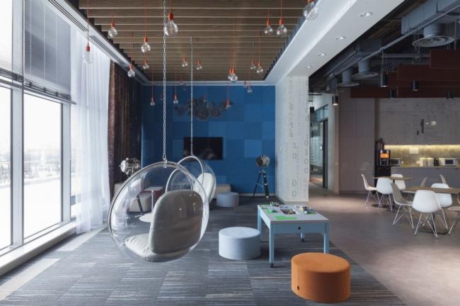 Офис компании Microsoft. Архитекторы: UNK project. Изображение предоставлено пресс-службой премии MCFO Awards