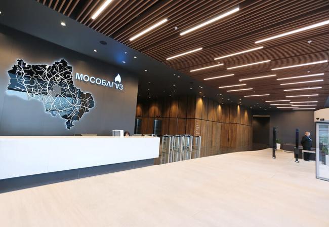 Офис компании Мособлгаз. Архитекторы: Arch group. Изображение предоставлено пресс-службой премии MCFO Awards