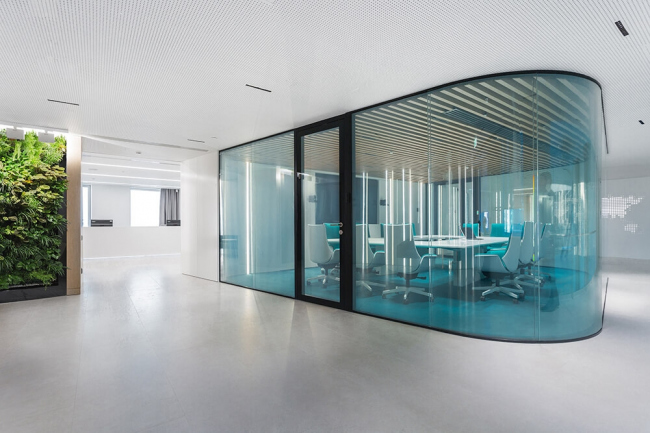 Офис компании Сибур. Архитекторы: IND architects. Изображение предоставлено пресс-службой премии MCFO Awards