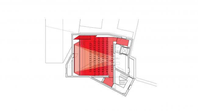 Кинотеатр Pálás © dePaor Architects