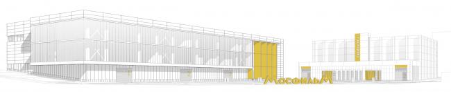 Mosfilm production studio. 3D © Project bureau APEX