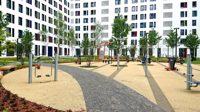 ЖК Green Park © Проектное бюро АПЕКС