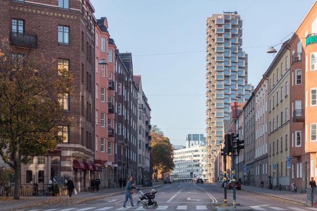 Башни Norra tornen. Башня Innovationen. Фото: Laurian Ghinitoiu, предоставлено OMA