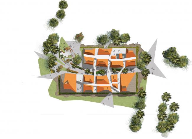 Факультет архитектуры и экологического проектирования © Patrick Schweitzer et Associés Architectes