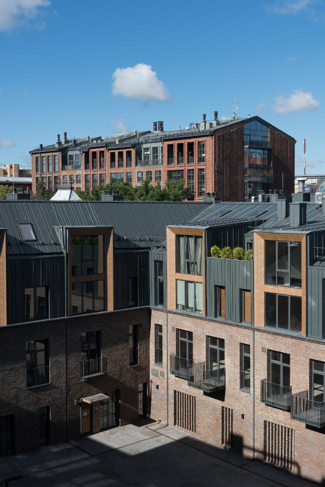 The housing complex Rassvet LOFT*Studio, Building 3.20. Photograph © DNK ag, Ilia Ivanov
