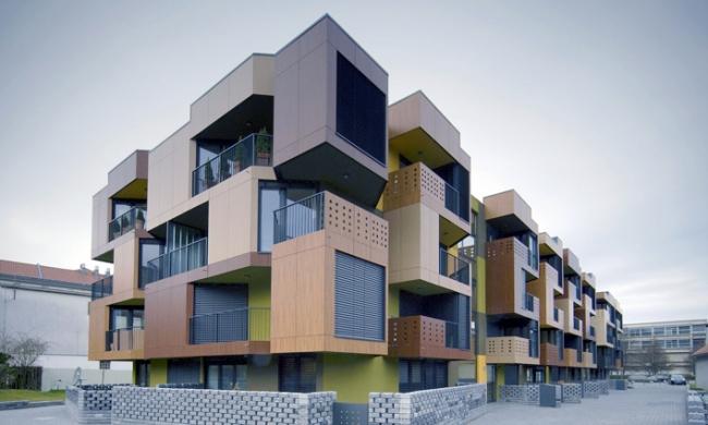 Жилой комплекс «Тетрис» © Ofis