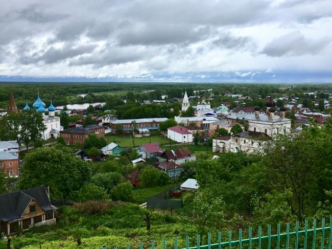 Панорама города Гороховца. Фотография Елены Петуховой