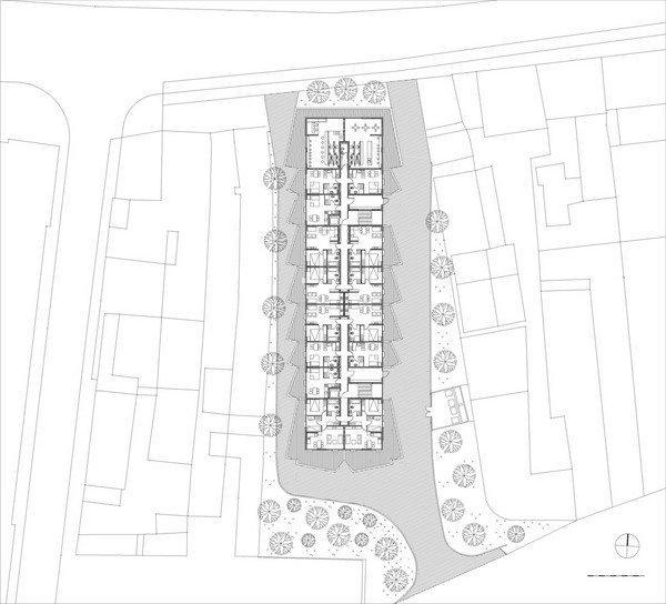 Жилой комплекс «Тетрис». Ситуационный план © Ofis
