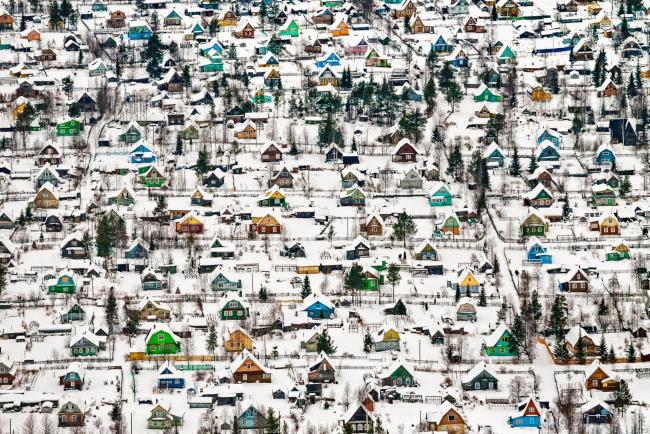 Первое место SIPA 2018. «Игрушечные домики» (Архангельск, Россия) © Фёдор Савинцев (Россия)