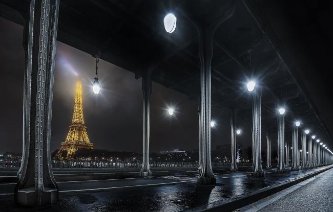 Поощрительная премия SIPA 2018. «Мост Бир-Хакейм» © Джан Маттео Тальябуэ (Италия) / Gian Matteo Tagliabue