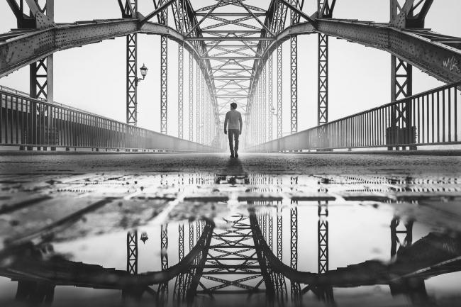 Поощрительная премия SIPA 2018. «Мост в Старом Гамбурге» © Александер Шёнберг (Германия) / Alexander Schönberg